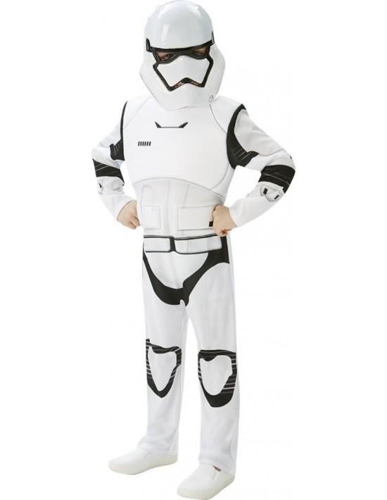 Disfraz stormtrooper deluxe talla 5-6 años Rubies Niño