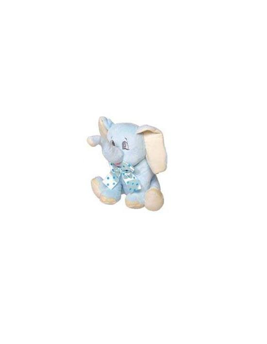 Peluche elefante azul 26 cm Mare Mama Peluches