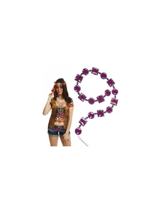 Cinturón hippie morado Genérico Cinturones