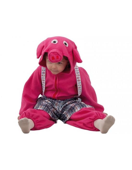 Disfraz cerdito valiente talla 12 meses Fiesta y Carnaval Bebé