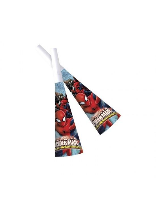 Bolsa de trompetas spiderman ultimate 6 uds Invcas Escena Decoración
