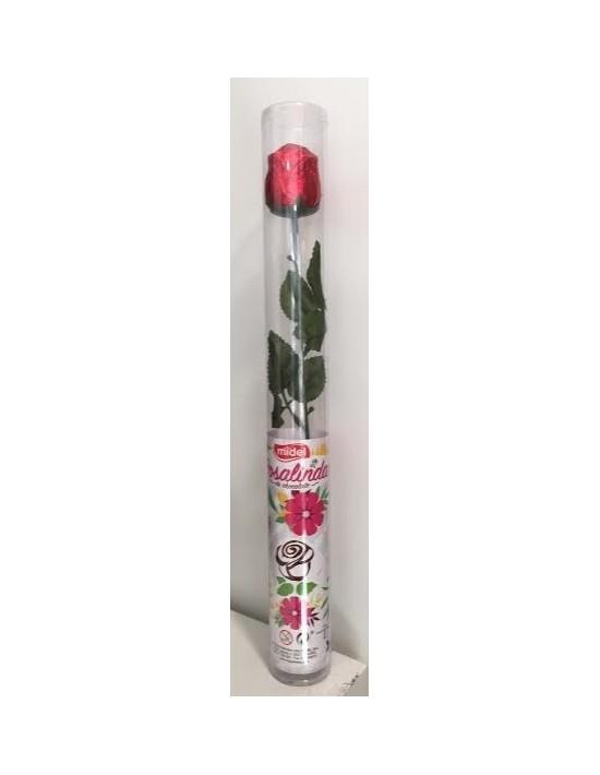 Rosa de chocolate rosalinda Migueláñez Con chocolate
