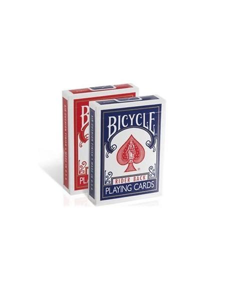 Baraja bicycle rider back estuche antiguo pack 12 unid VDF Magic Póquer