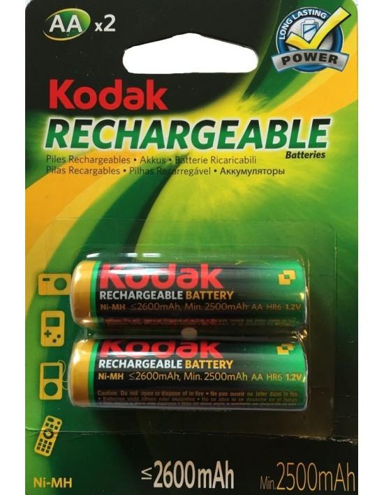 Pilas recargables kodak aa 2600mah Kodak Pilas Recargables