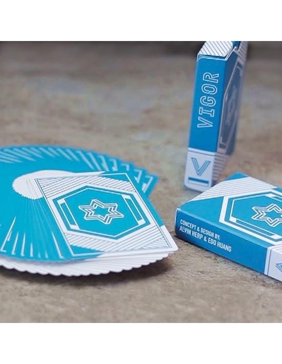 Baraja vigor edición azul VDF Magic Póquer