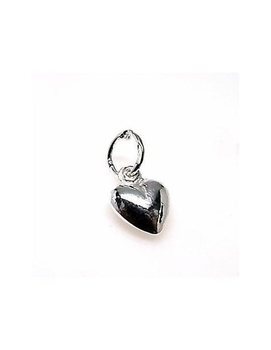 Colgante plata corazón mini Genérico Colgantes