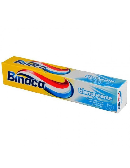 Dentífrico binaca blanqueante 75 ml Genérico Higiene bucal