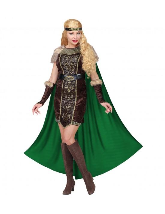 Disfraz vikinga talla xs Widmann Para Mujer