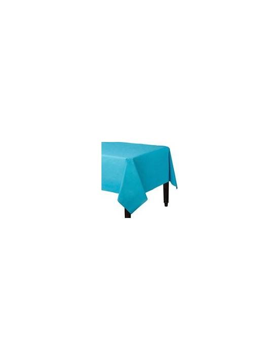Mantel azul 137x274 cm Decorata Party Escena Decoración