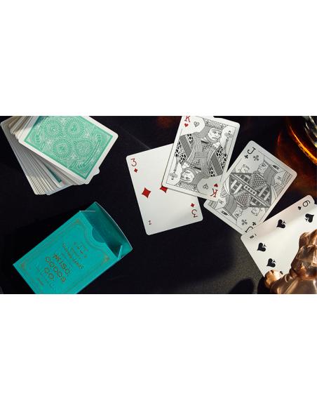 Baraja mgco verde Asdetrebol Magia Póquer