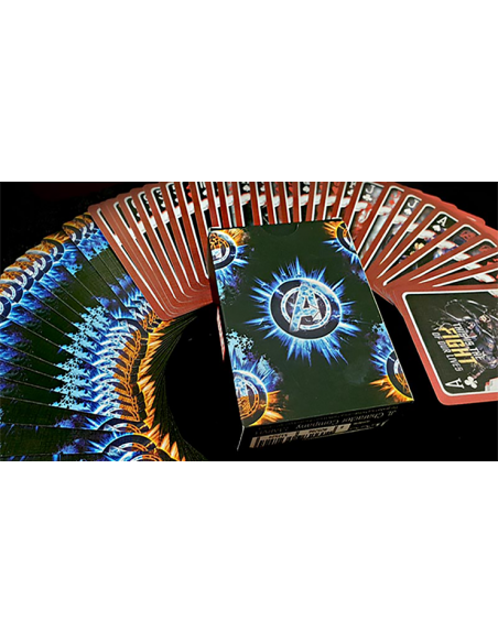 Baraja avengers endgame classic Asdetrebol Magia Póquer
