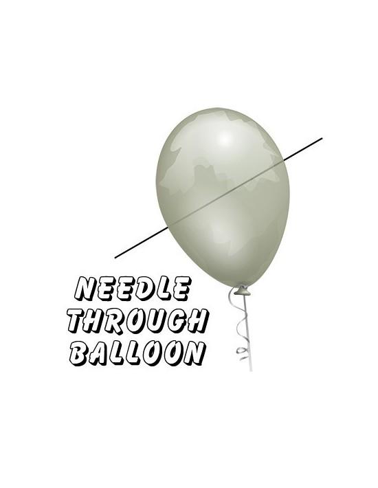 Aguja a través del globo profesional (con 10 globos) por bazar de magia Bazar De Magia Magia con globos