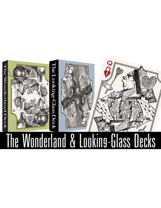 The wonderland and looking-glass playing card set by stephen w. brandt Stephen W. Brandt Póquer