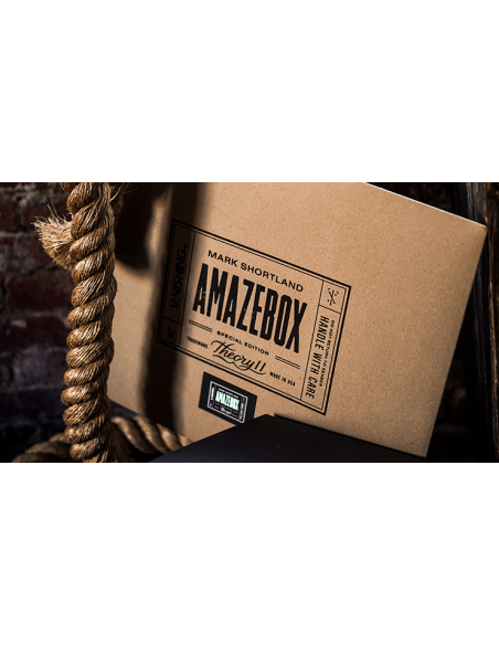Amazebox kraft (gimmick) por mark shortland y vanishing Mark Shortland & Vanishing Pequeñas