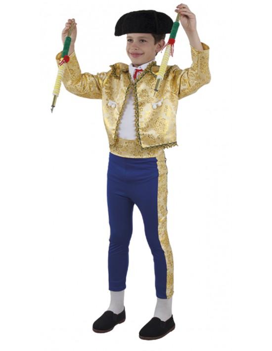Disfraz de torero de luces talla 12  Niño