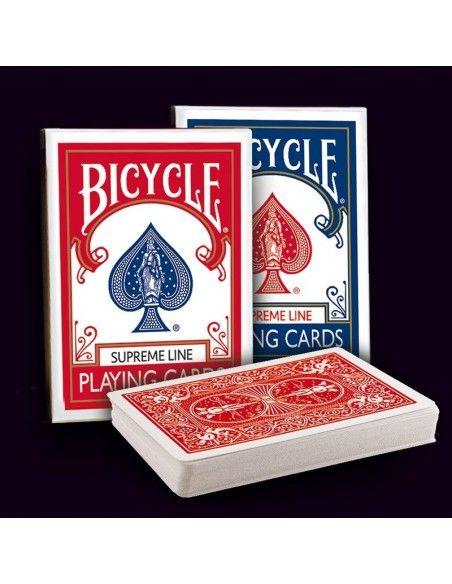 Baraja bicycle dorso rojo supreme line  Póquer