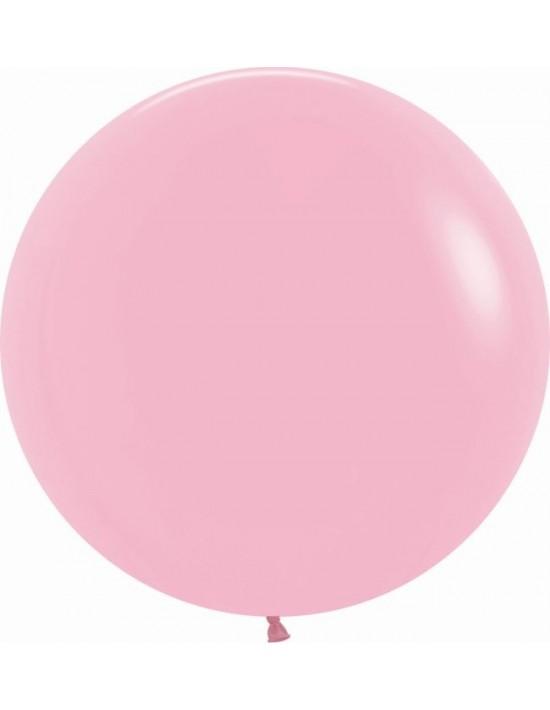 Bolsa de 10 globos sempertex r24 60cm color fashion rosado (009) Sempertex Globos Redondos
