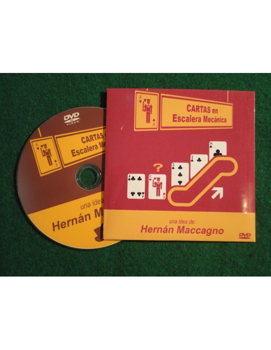 Cartas en escalera mecánica Hernan Macagno Cartomagia