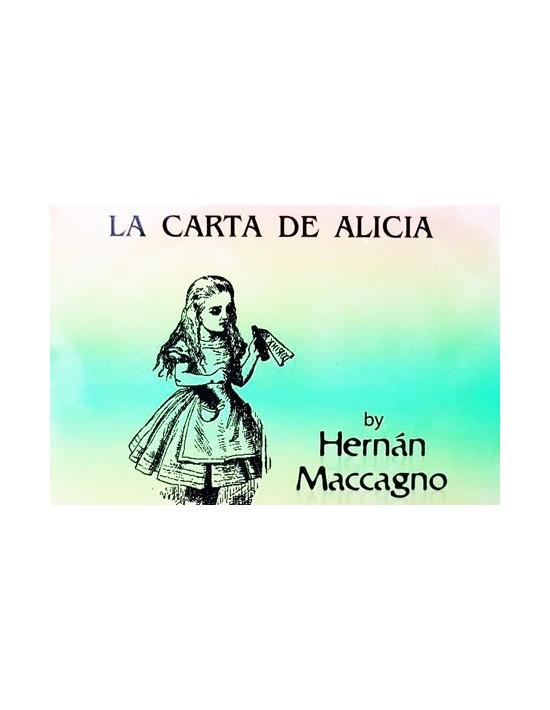 La carta de Alicia Hernan Macagno Cartomagia