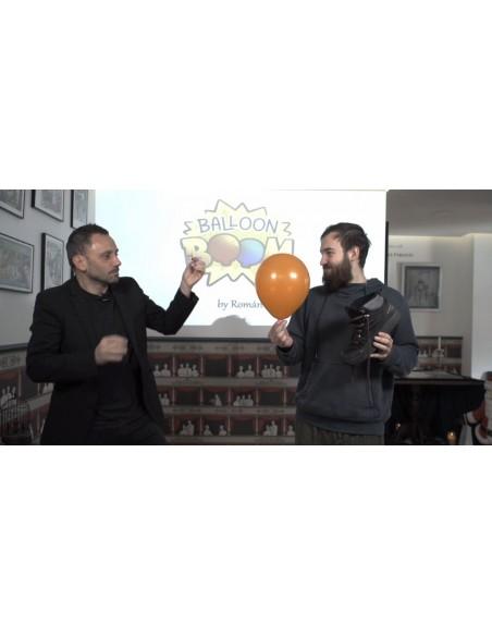Balloon Boom. Explosión de globos Mago Román Magia infantil